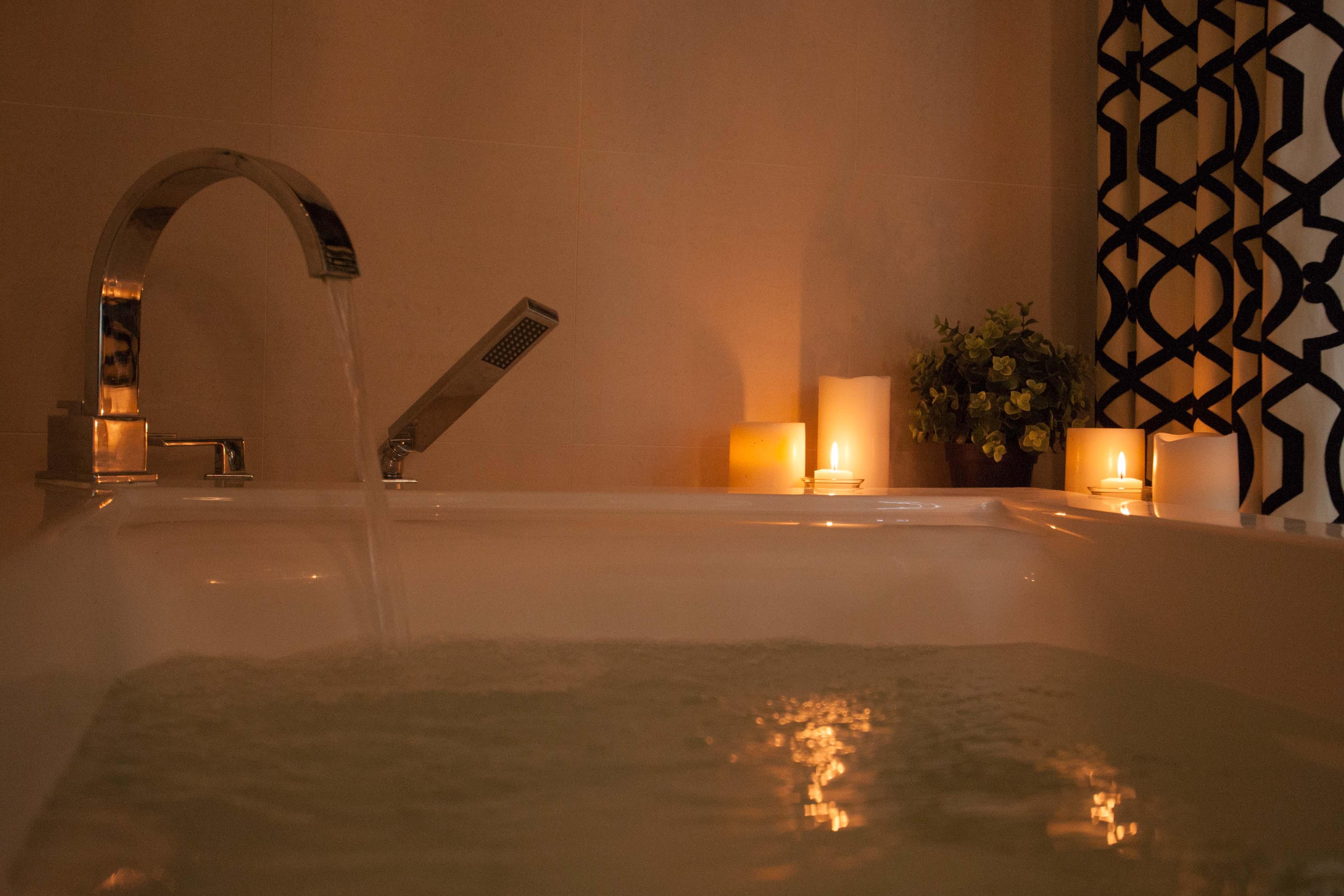 Serenity Bath water flowing