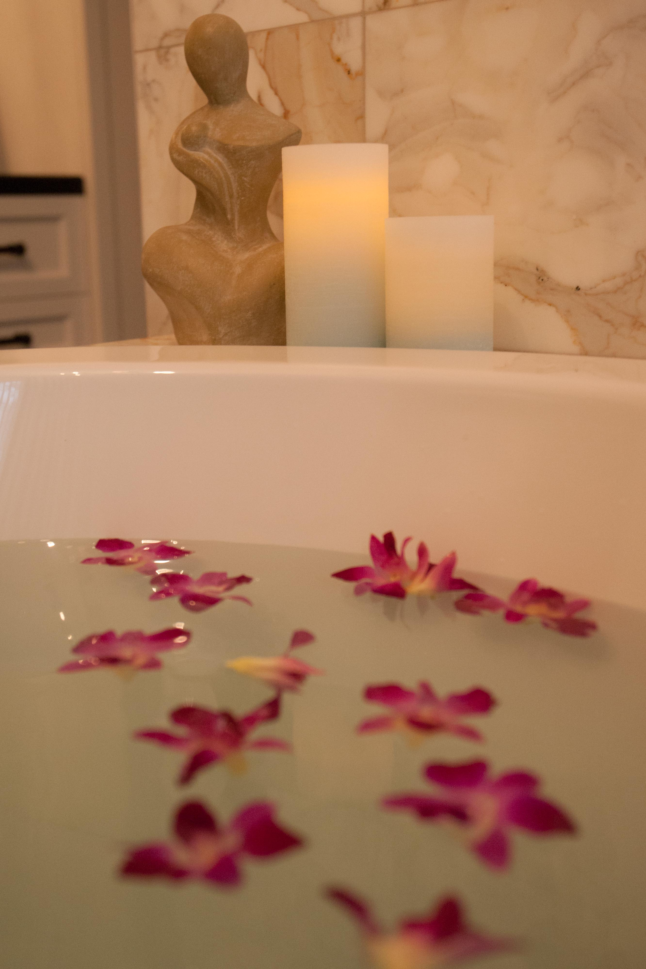 Tranquility bath water